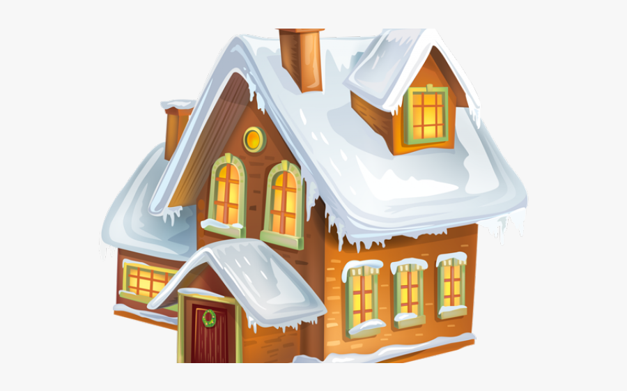 House In Winter Clipart , Free Transparent Clipart.