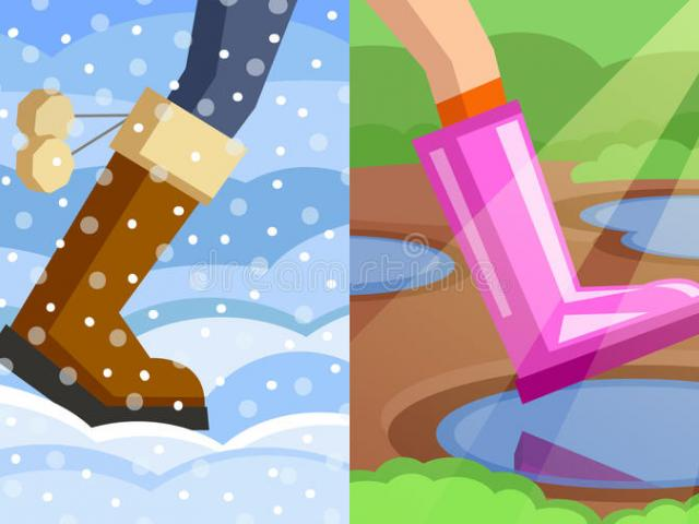 Winter Spring Cliparts 13.