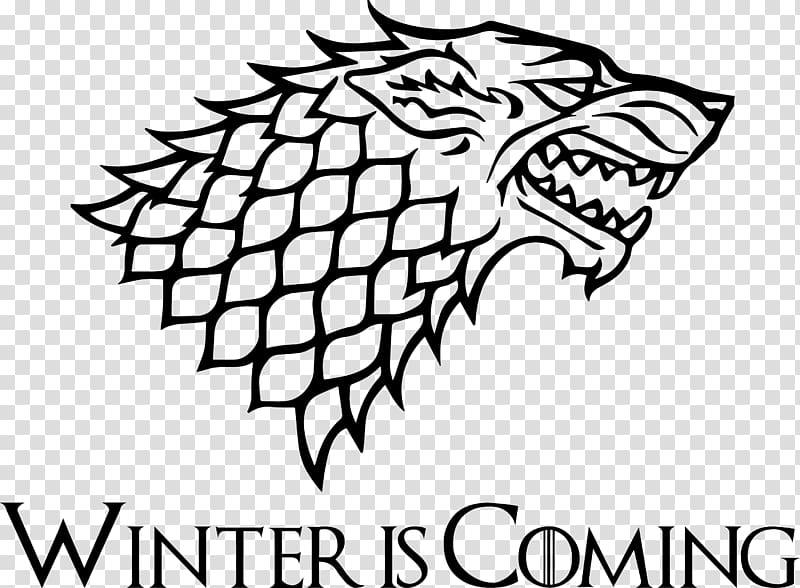Winter is coming illustration, A Game of Thrones Bran Stark House.