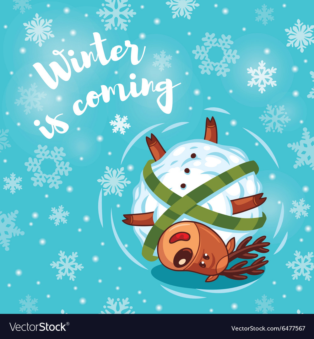 winter is coming free clipart #2