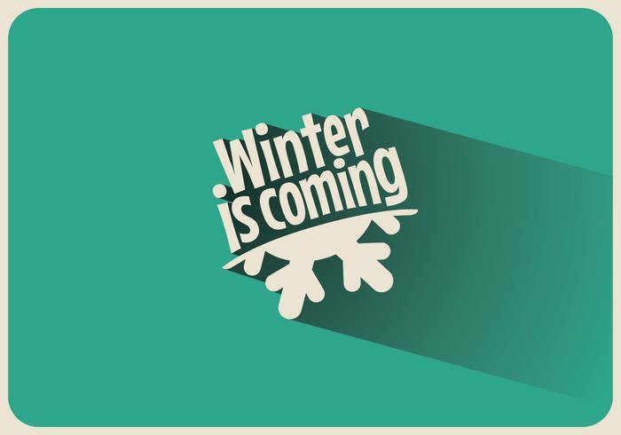 Winter is Coming Vector.