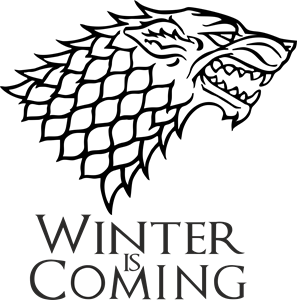 WINTER IS COMING Logo Vector (.PDF) Free Download.