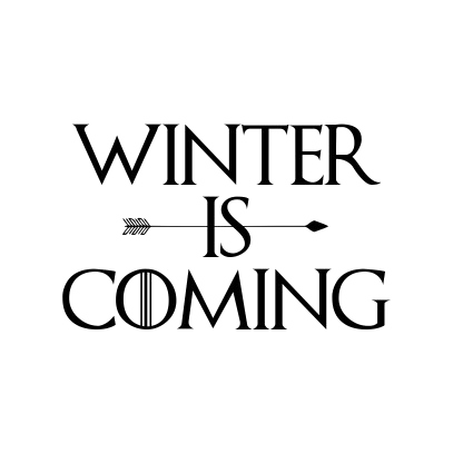 Winter Is Coming PNG Free Download.