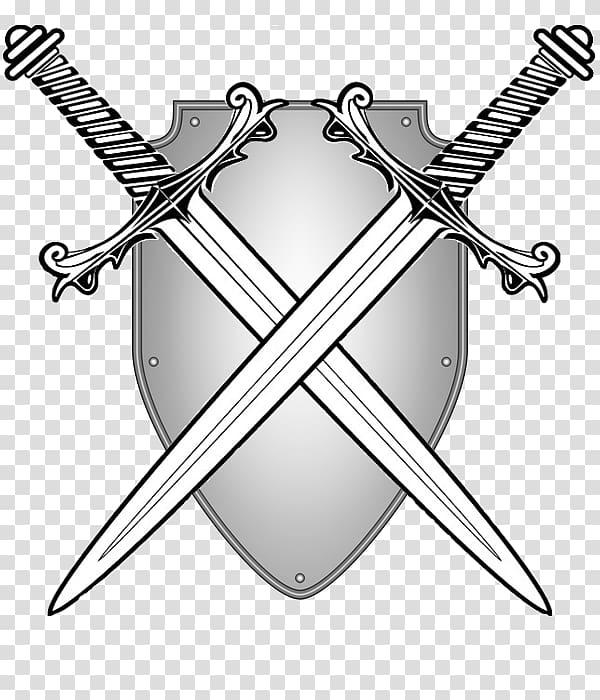 Two Swords , Sword transparent background PNG clipart.