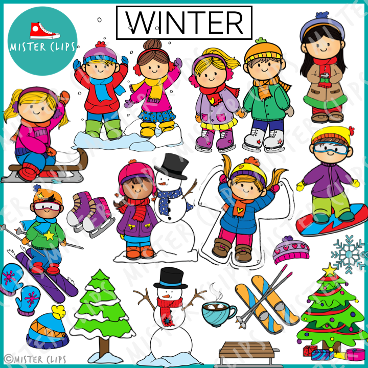 Winter is here Clipart { MisterClips }.