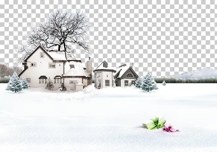 Snow Winter Lidong Photography, winter is here PNG clipart.