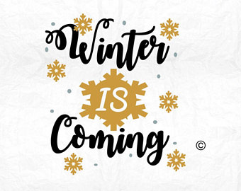 Winter Is Coming Clipart.
