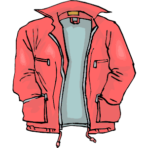 Boys Jacket Clipart.