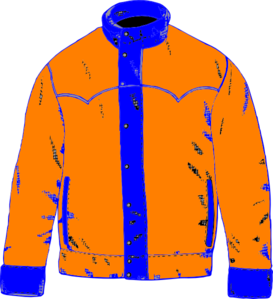 Winter coat clipart.