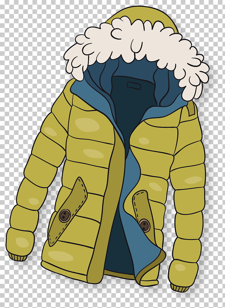 Winter clothing Winter clothing, Padded winter, yellow and.