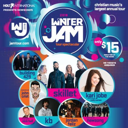 Winter Jam 2018 Clipart.