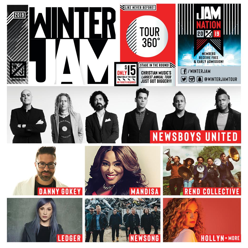 Winter Jam Tour Spectacular 2019.