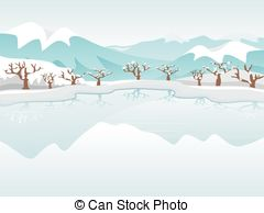 Frozen lake Illustrations and Clip Art. 366 Frozen lake royalty.