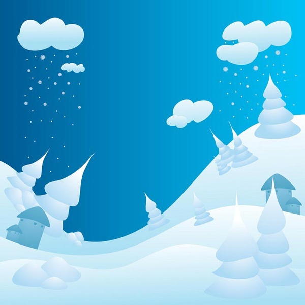 Free vector winter landscape free vector download (2,806 Free.