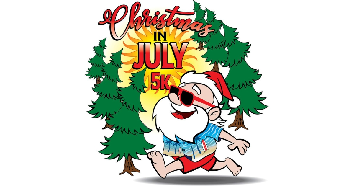 Christmas In July 5k.