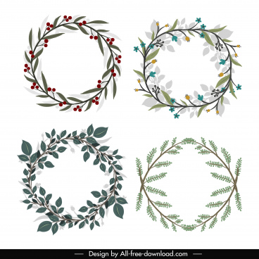 Wreath free vector download (407 Free vector) for commercial.
