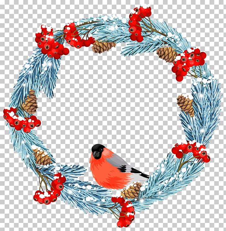 Wreath Winter Stock illustration iStock , Blue Winter Wreath.