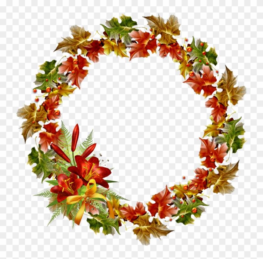 Vector Wreath Winter, HD Png Download (#2647353).