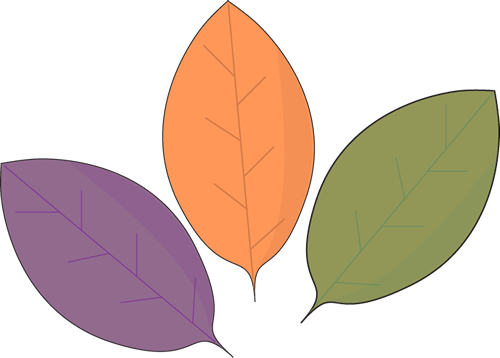 Cute Leaf Clipart.
