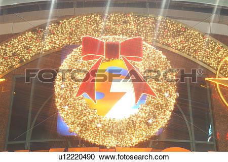 Stock Photography of seasons, nightview, bell, christmas, lighting.