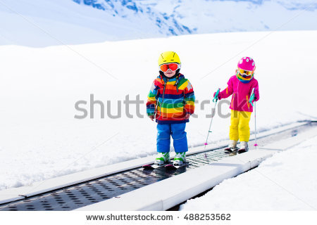 Ski School Stock Photos, Royalty.