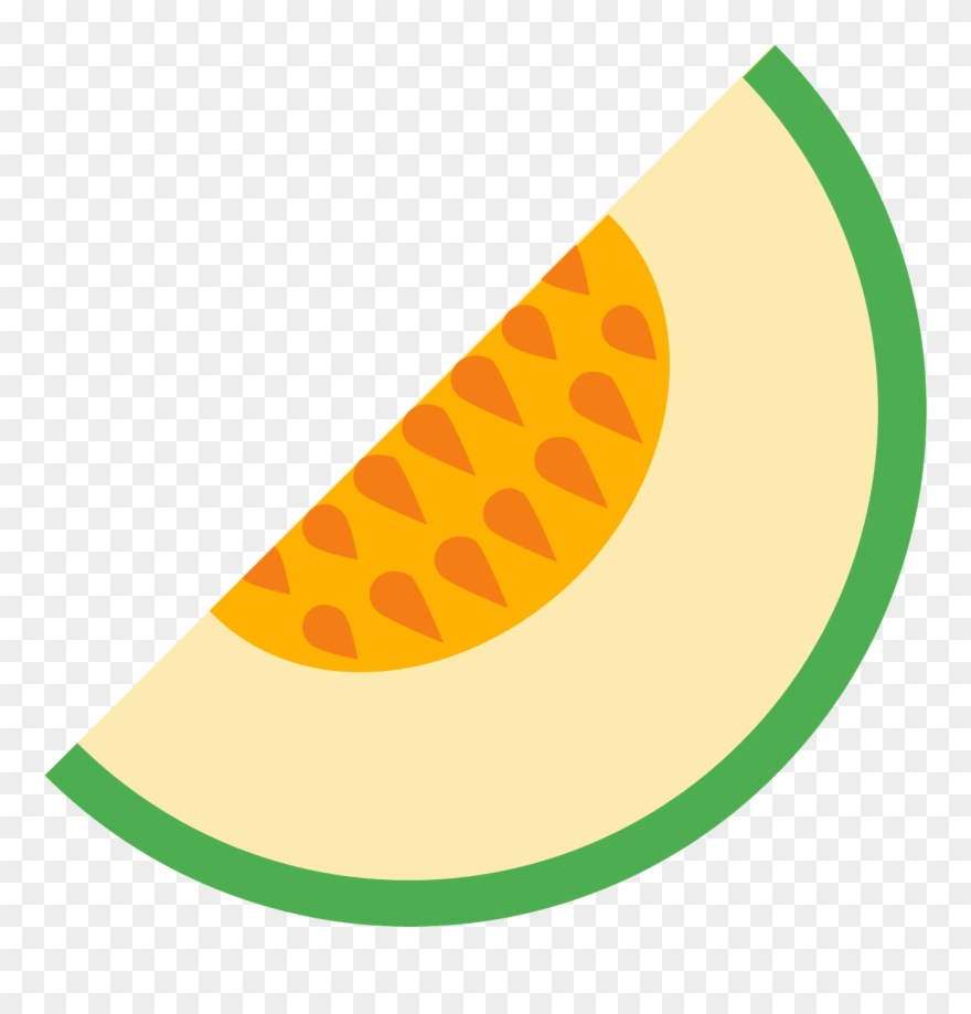 This Is A Slice Of A Melon Fruit.