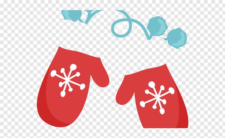 Red, Glove, Mitten, Ebony Faux Leather D8543, Mitten Mitten.