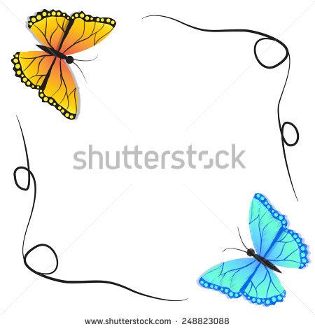 Butterfly Clip Art Stock Photos, Royalty.