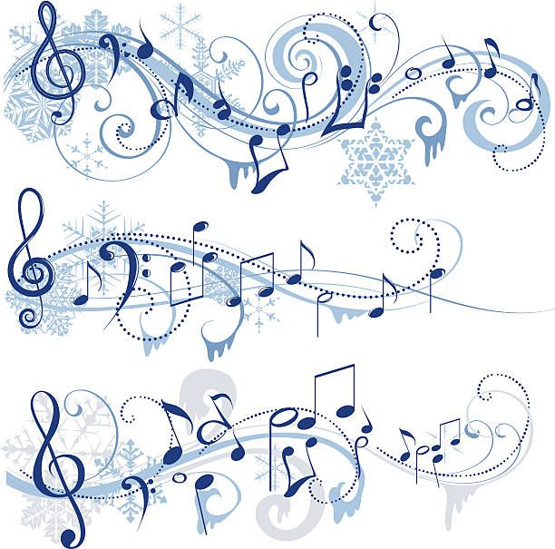 Musical clipart winter music #979.