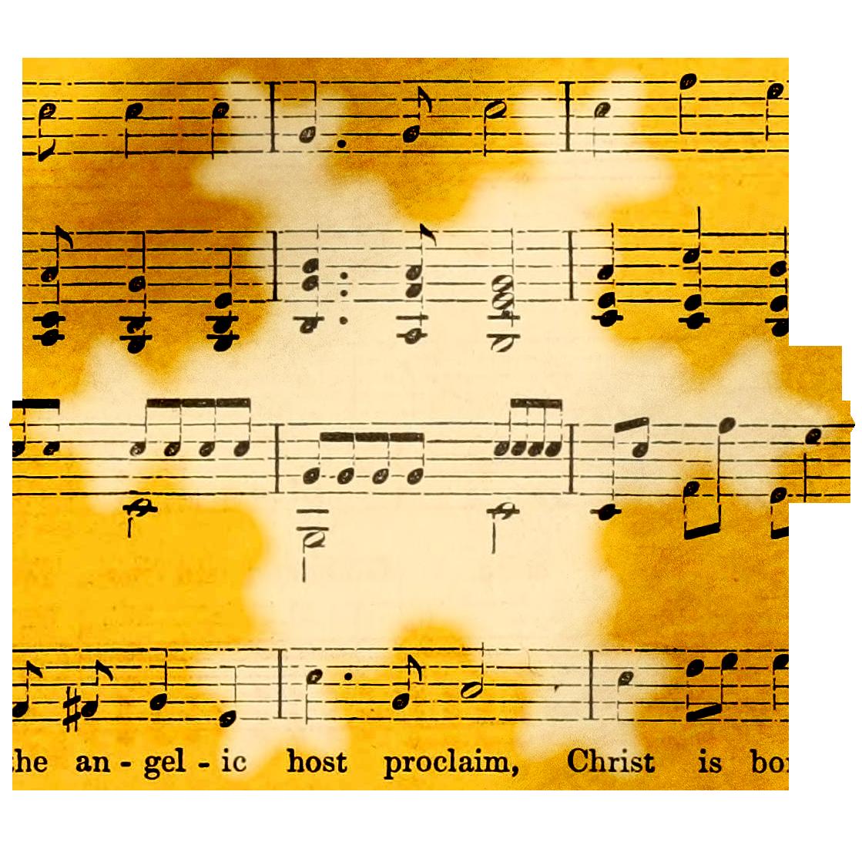 Music Winter Clipart.