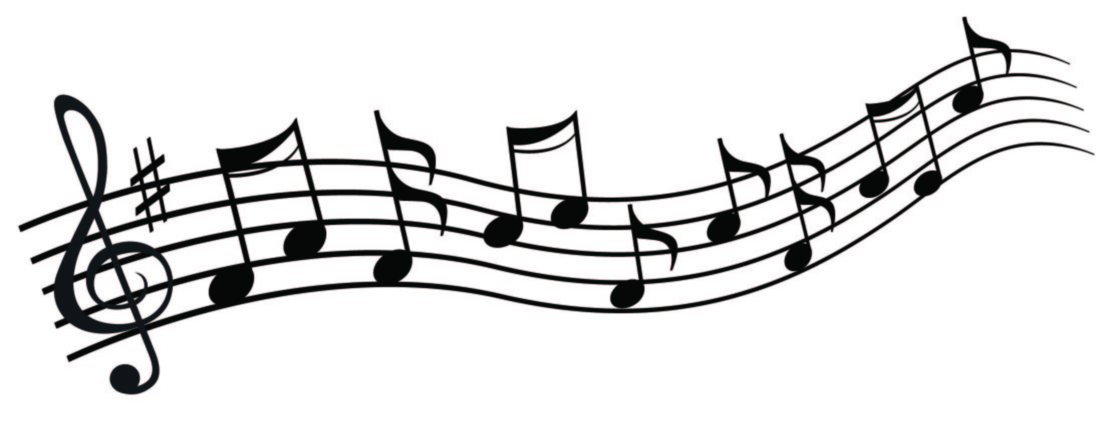 Single Music Notes Clipart.