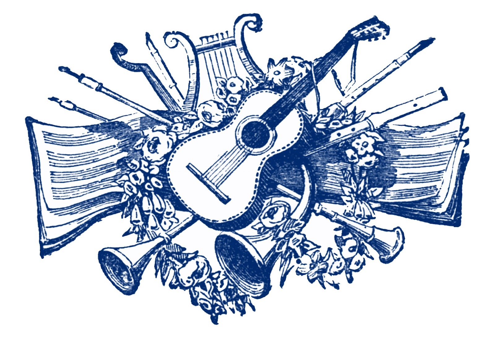 Country music clipart microsec.