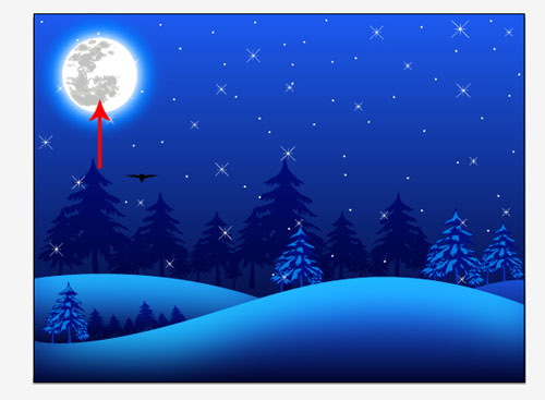 Clipart winter night, Clipart winter night Transparent FREE.