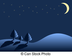 Winter night Clipart and Stock Illustrations. 48,681 Winter.