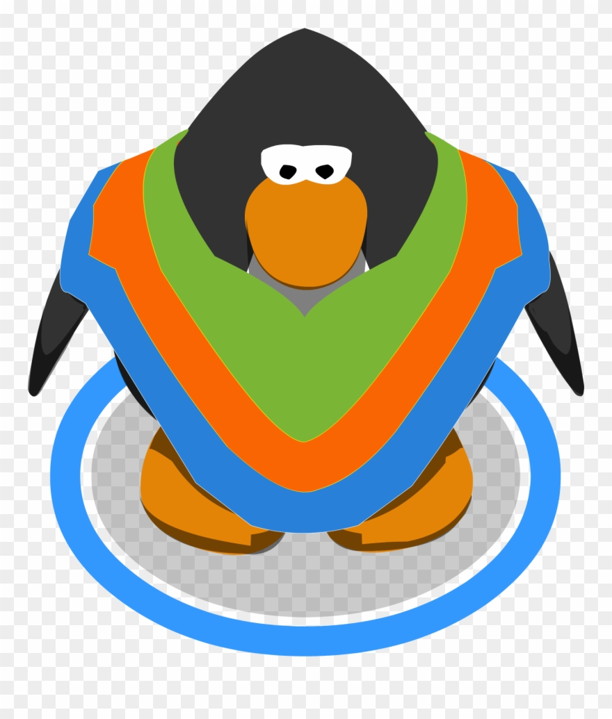 Winter Poncho Club Penguin Wiki The Free Editable.