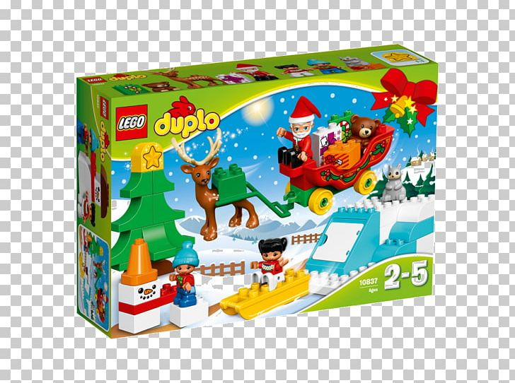 LEGO 10837 DUPLO Santa\'s Winter Holiday LEGOLAND Toy Lego.