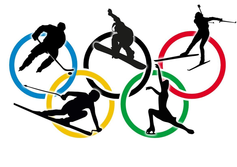 Winter Olympics 2018 Free Clipart.