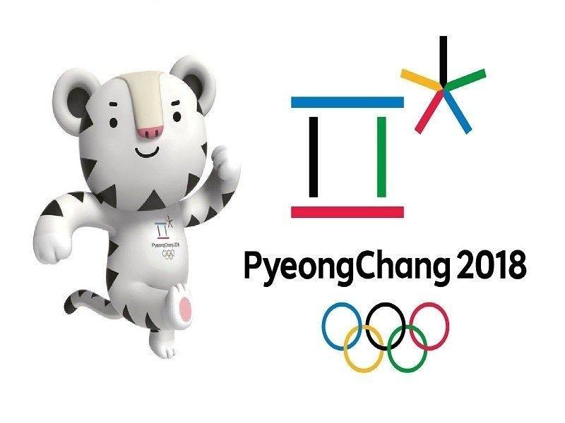 Winter Olympics 2018 Clipart.