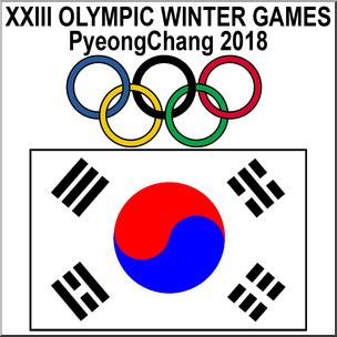 PyeongChang ClipArt.