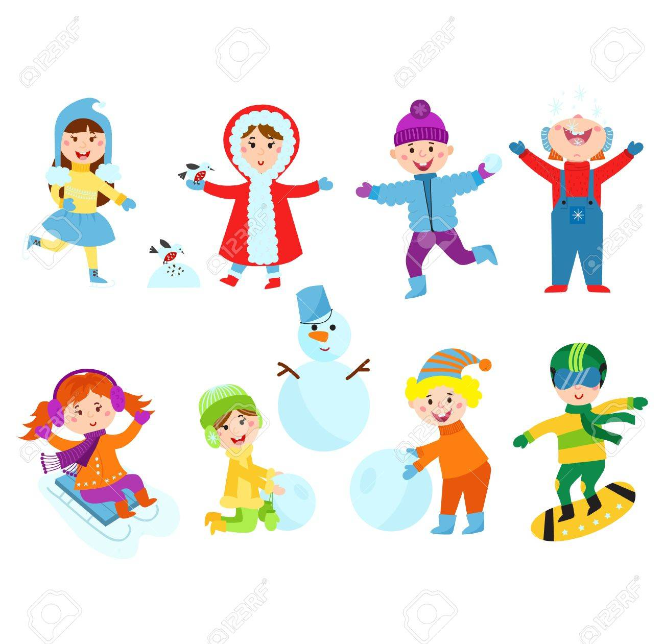 Winter Games Clipart.