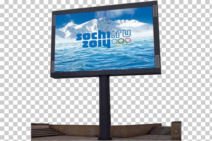 Sochi LCD television 2014 Winter Olympics Computer Monitors.