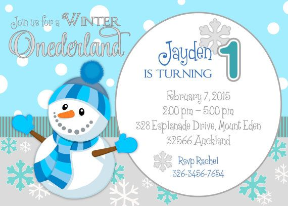 Winter Onederland / Wonderland first birthday by.