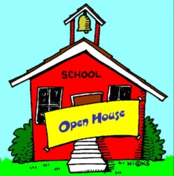 288 Open House free clipart.