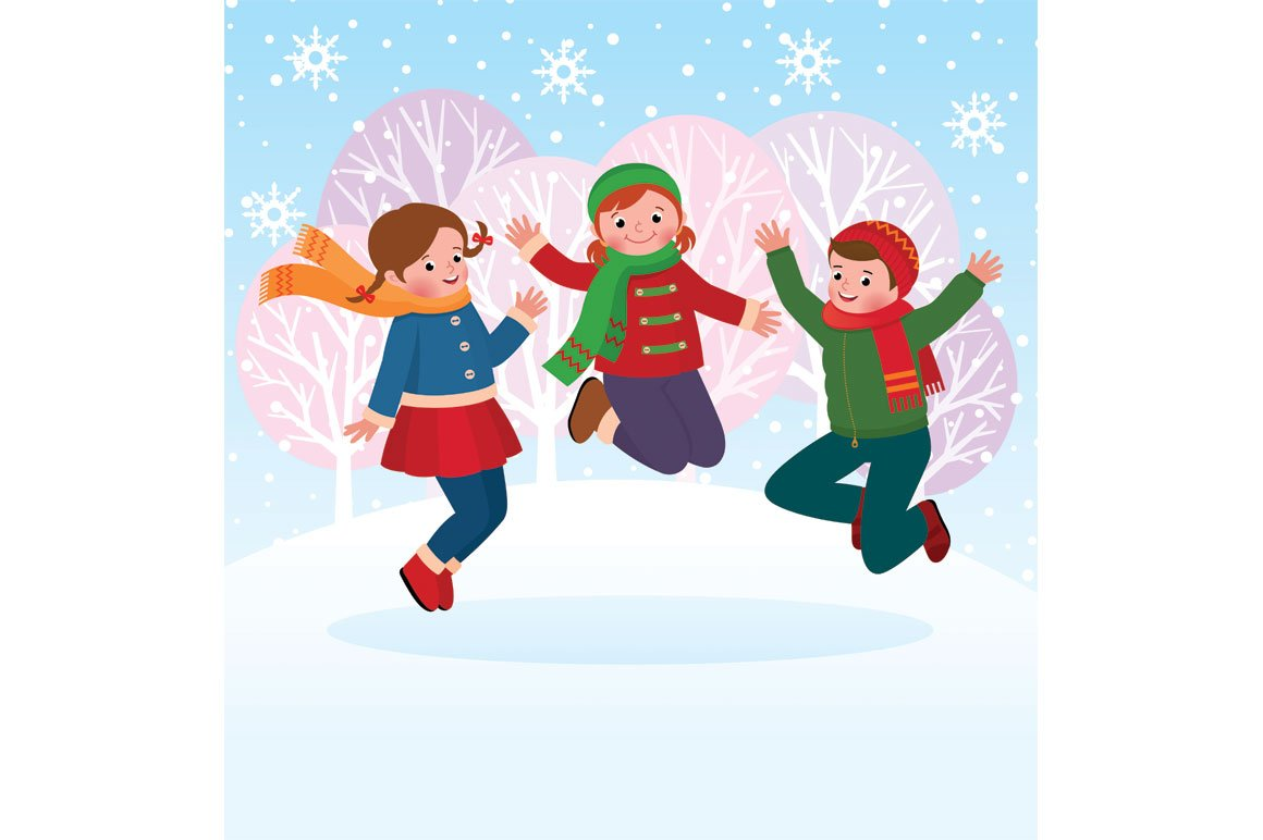 Winter outdoor play clipart clipart images gallery for free.