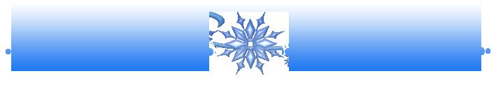 Winter Clipart Divider.