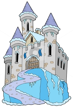 Frozen Castle Clipart.