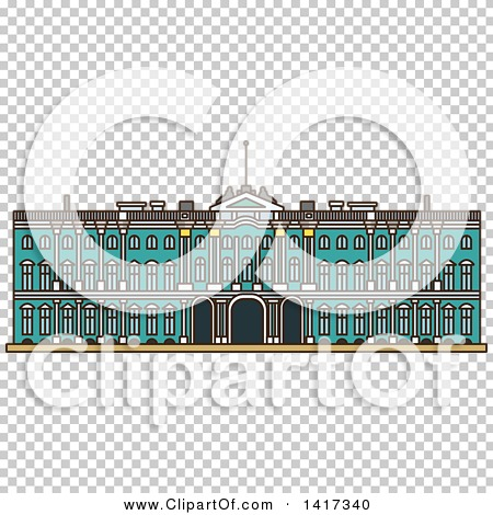 Clipart of a Landmark, Winter Palace.