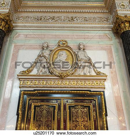 Stock Photography of Interiors of a museum, Winter Palace, State.