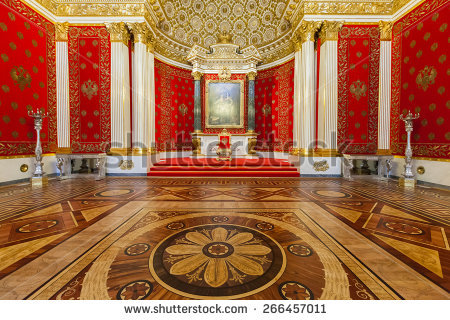 Inside Palace Stock Photos, Royalty.