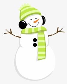 Winter Party Snowman Clipart Watercolor Transparent.